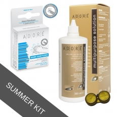 LENS CARE KIT (SOL 360ml + HAND SANITIZER)